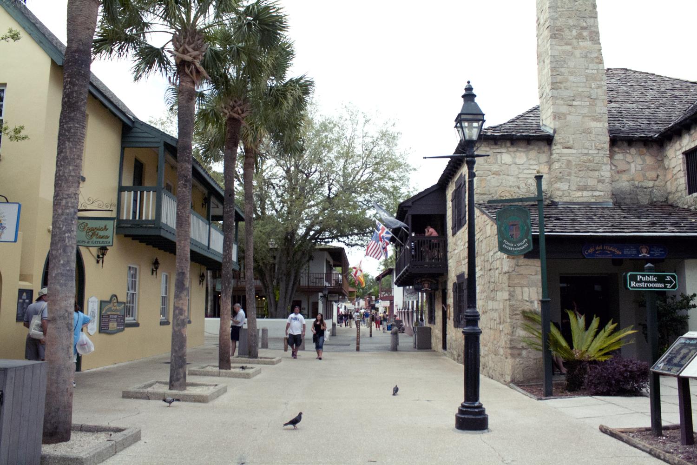 Calle Colonial en San Agustín