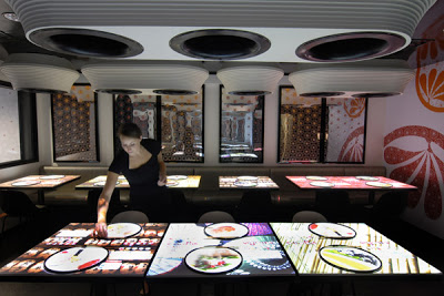 Inamo primer restaurante interactivo