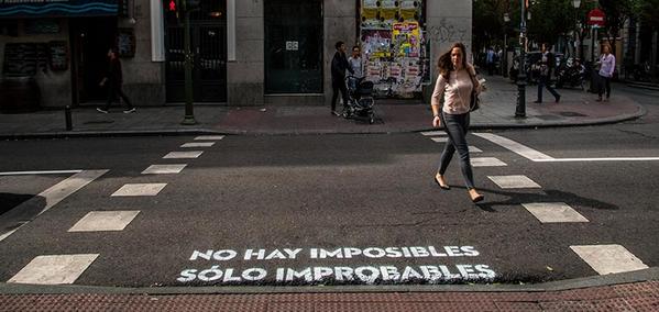 No hay imposible sólo improbables