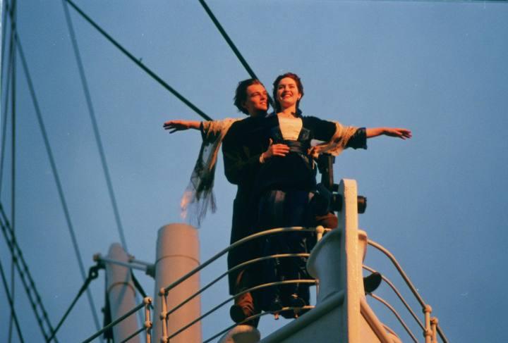 Escena Proa Titanic