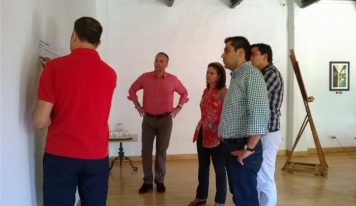 Formación in situ con los dos empresarios seleccionados, José Cantero y Carlos Sánchez