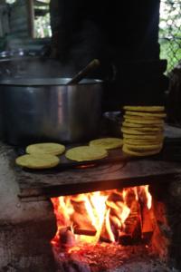 Arepa Santandereana Maiz Turismo gastronómico en Colombia