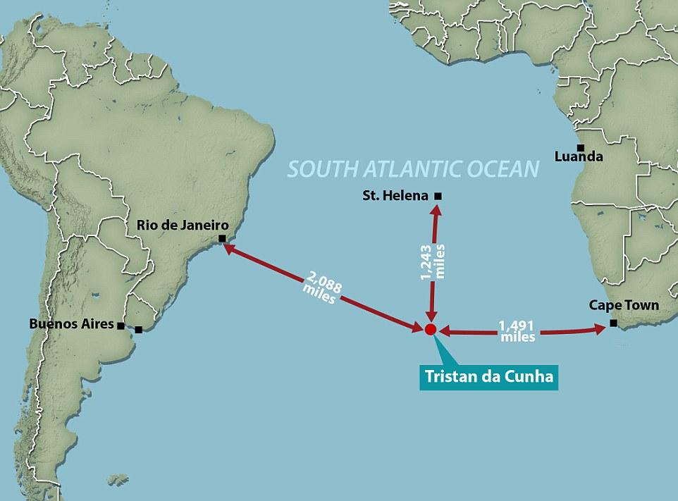 Tristán de Acuña, el lugar habitado más remoto del planeta