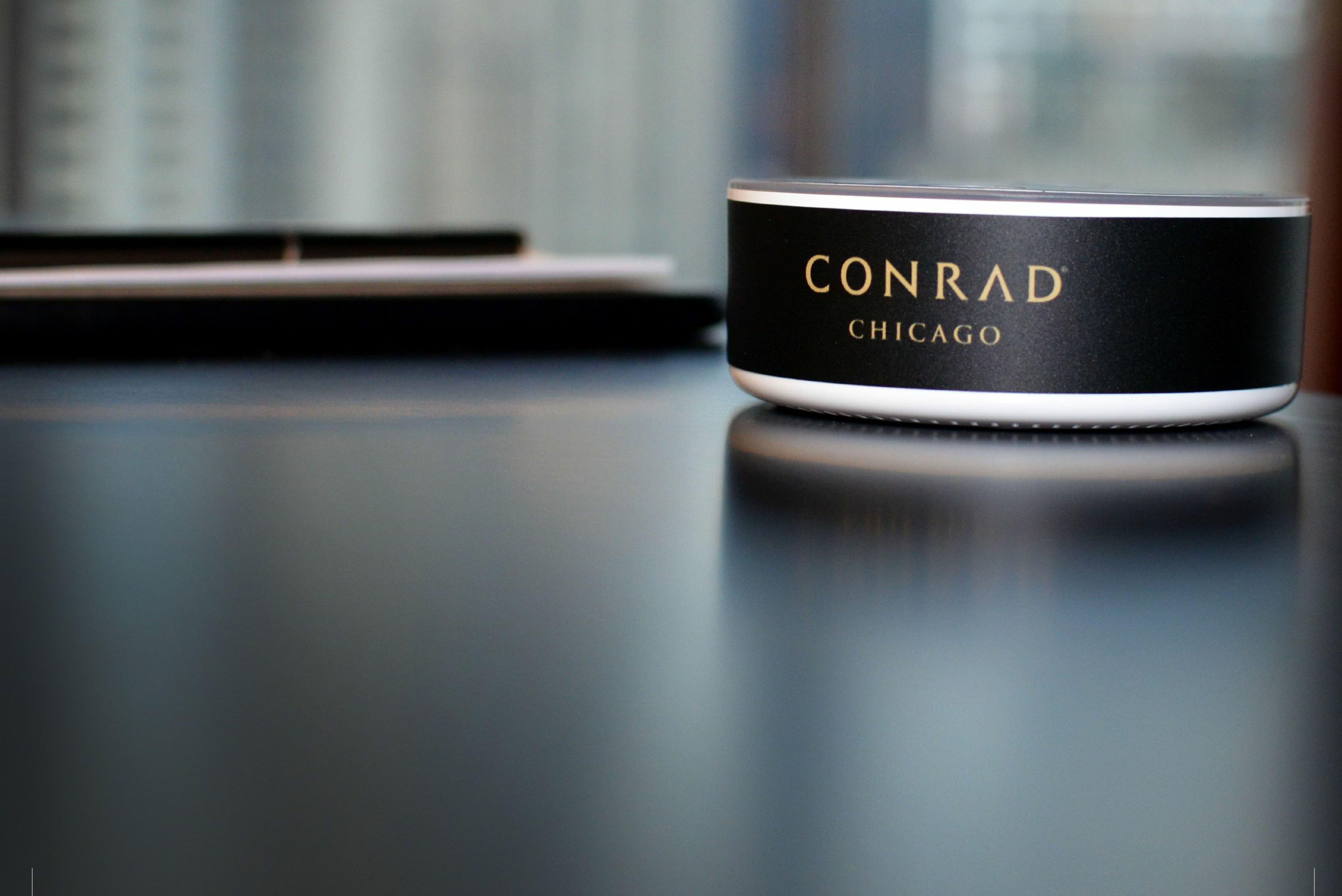 Conrad Amazon hotels alexa