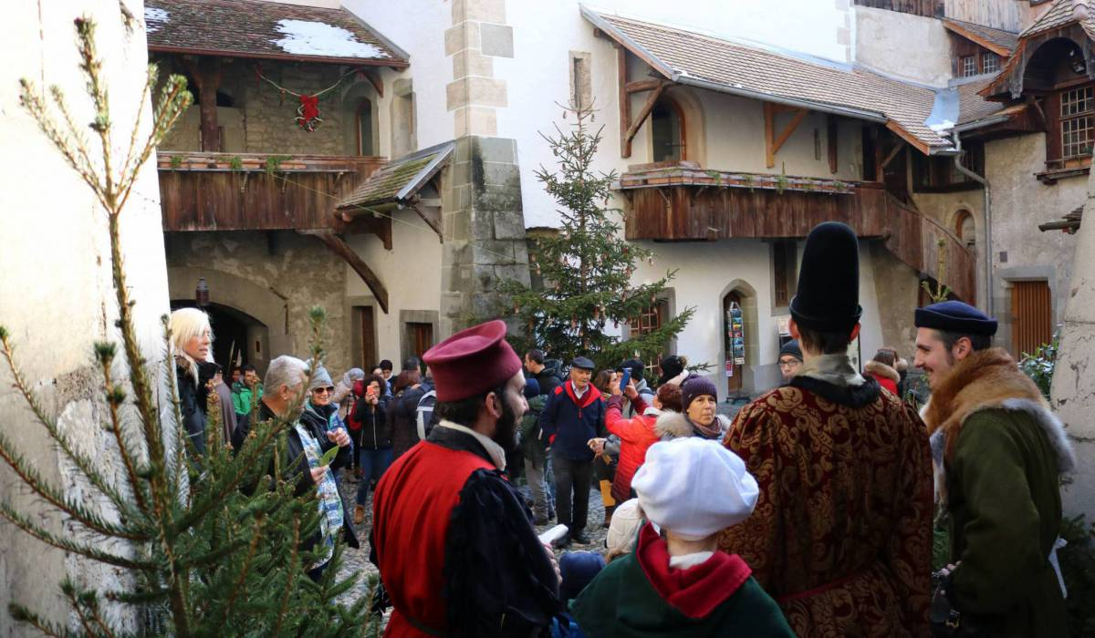 Castillo de Chillon Navidad