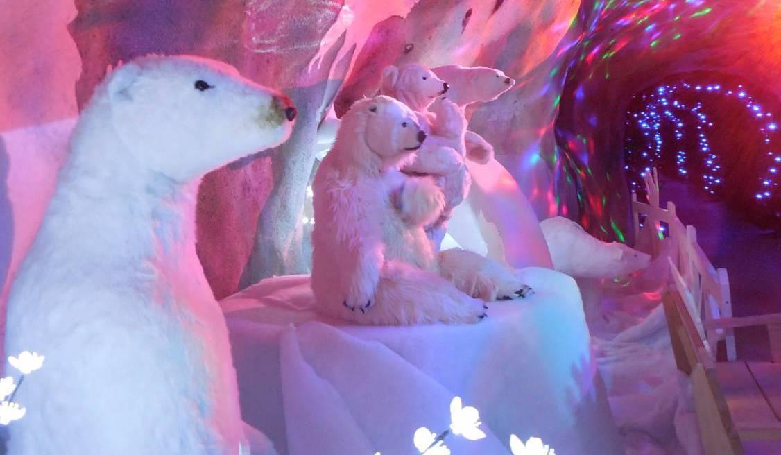 gruta de Papa Noel en Suiza