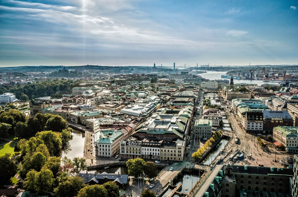 Panorámica de Goteburgo