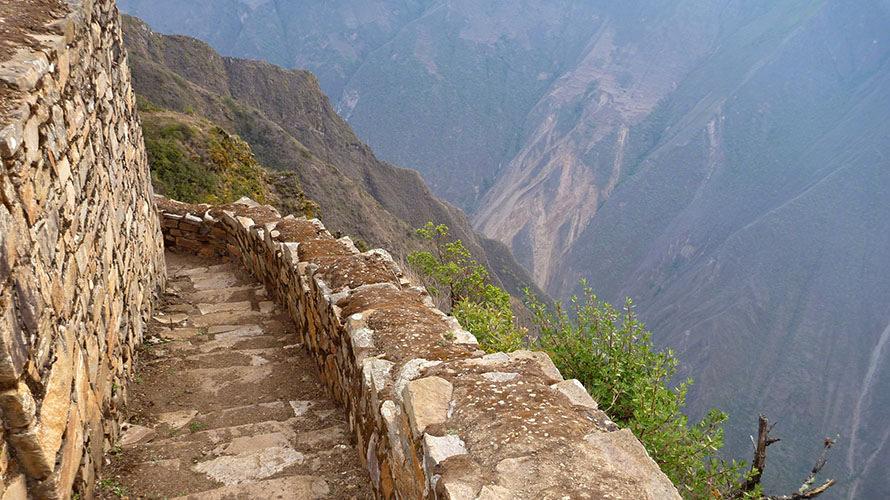 El camino Inca patrimonio de la Humanidad