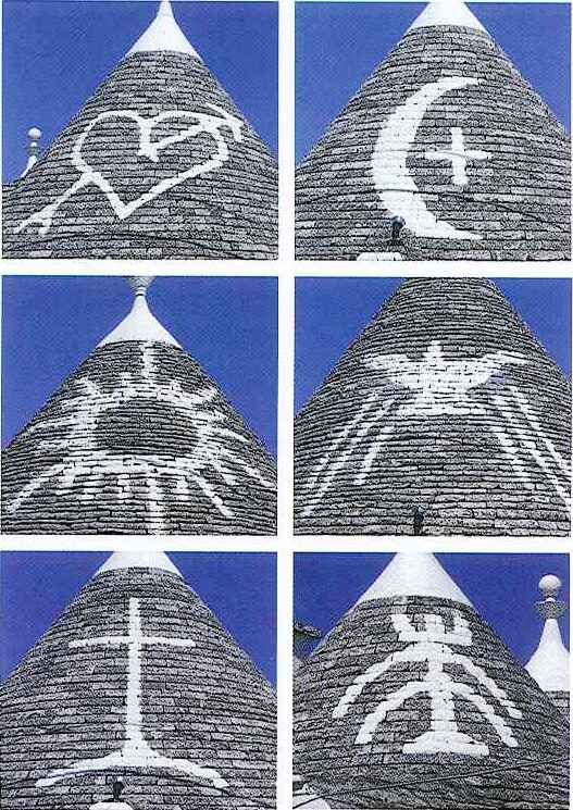 símbolos trulli