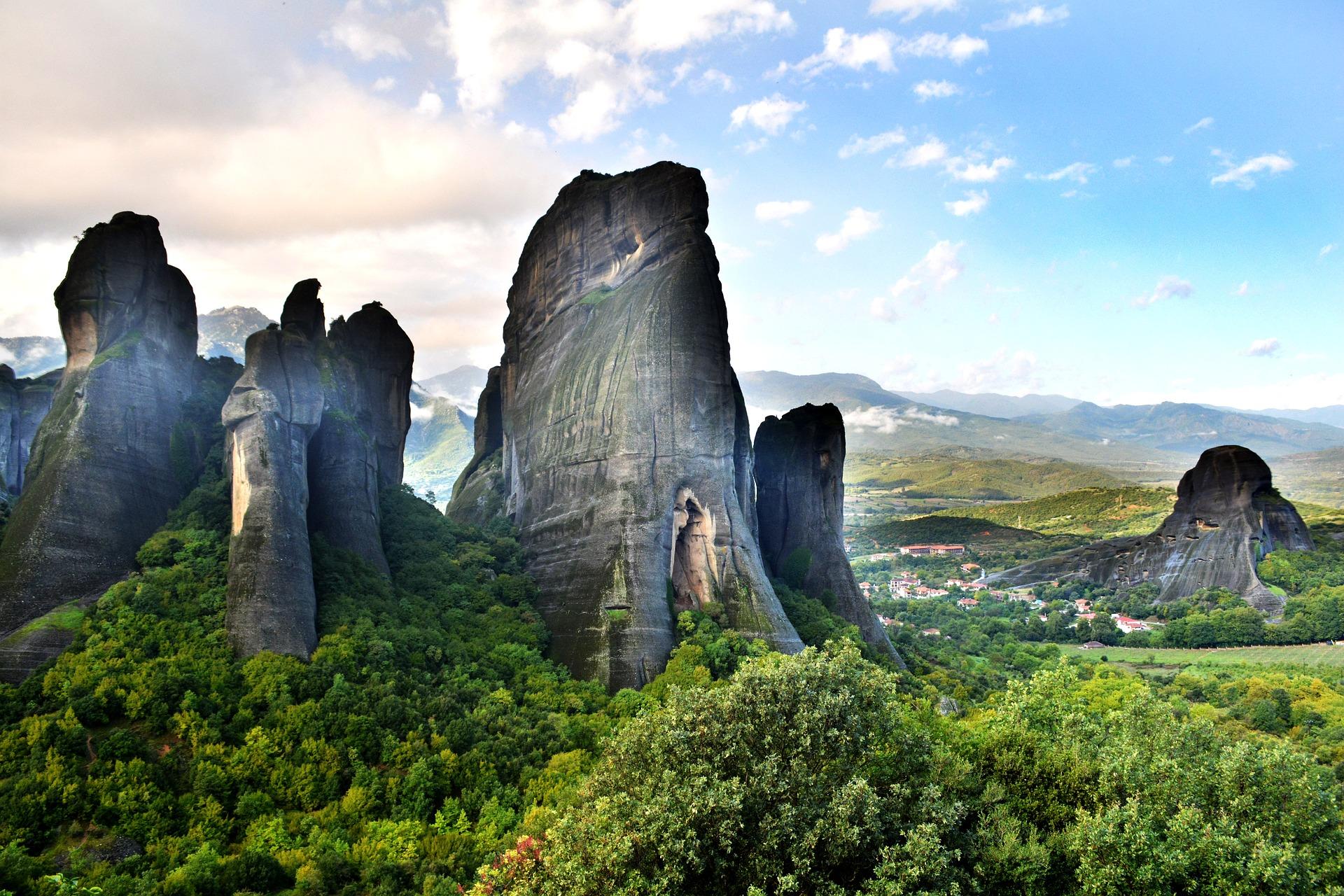 Montañas de Meteora